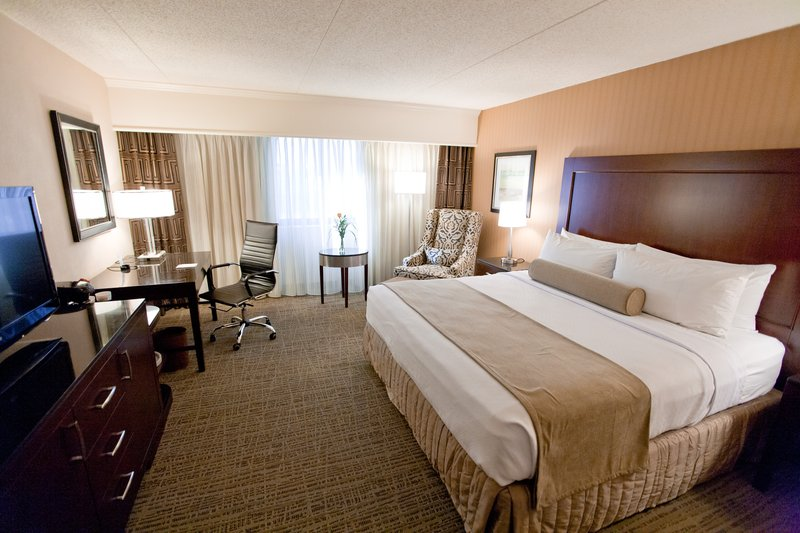 Crowne Plaza St. Louis Airport-King Bed Guest Room<br/>Image from Leonardo