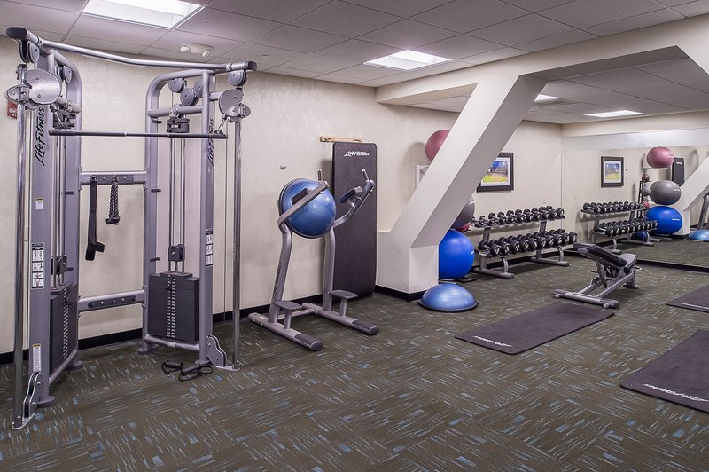 Crowne Plaza St. Louis Airport-Fitness Center located on the Lower Level<br/>Image from Leonardo