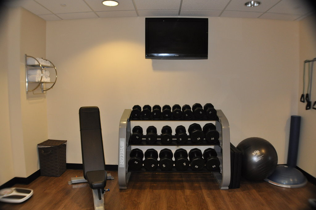 Holiday Inn Express Baltimore-Downtown-Fitness Center newly renovated<br/>Image from Leonardo