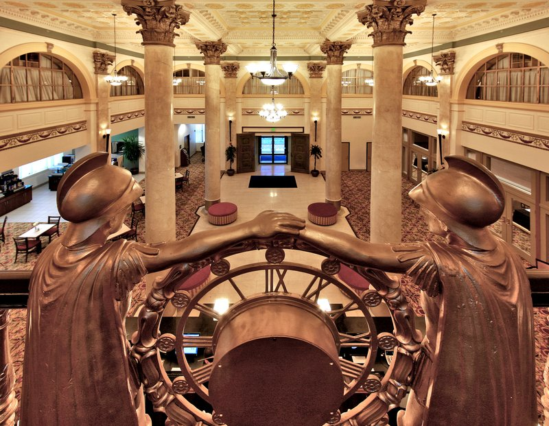 Holiday Inn Express Baltimore-Downtown-Enjoy luxury Historic Hotel lobby views from 1920<br/>Image from Leonardo
