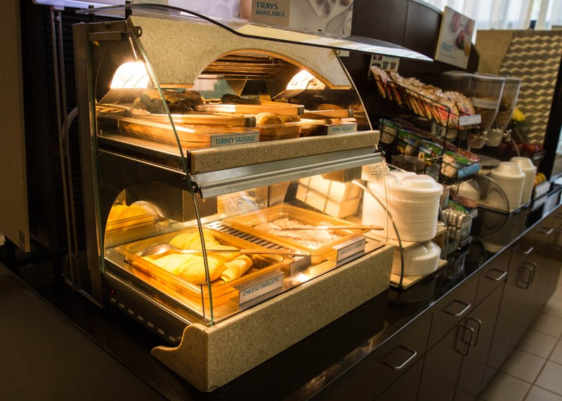 Holiday Inn Express Baltimore-Downtown-Enjoy our selection of hot and cold breakfast items<br/>Image from Leonardo