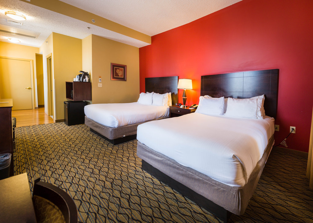 Holiday Inn Express Baltimore-Downtown-Spaces Double Bed Guest Room<br/>Image from Leonardo