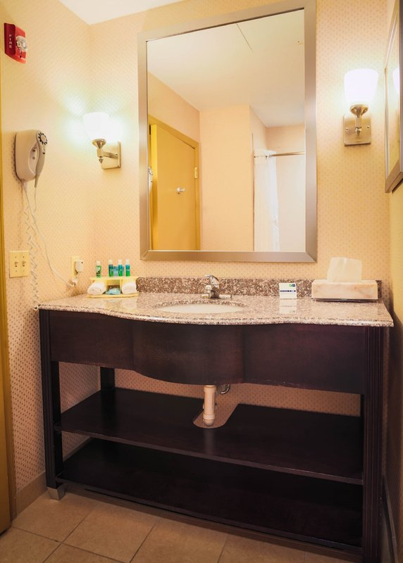 Holiday Inn Express Baltimore-Downtown-Guest Bathroom with Complimentary Amenities<br/>Image from Leonardo
