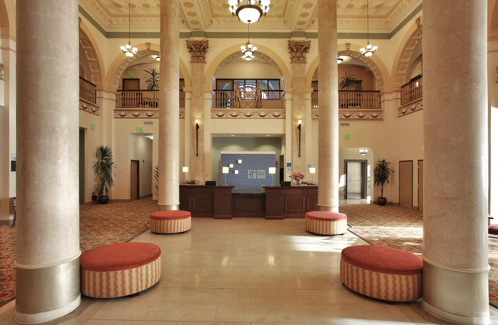 Holiday Inn Express Baltimore-Downtown-Reception<br/>Image from Leonardo