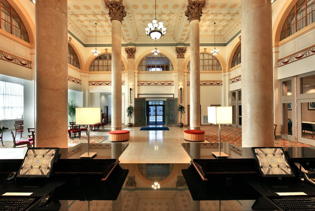 Holiday Inn Express Baltimore-Downtown-Front Desk <br/>Image from Leonardo
