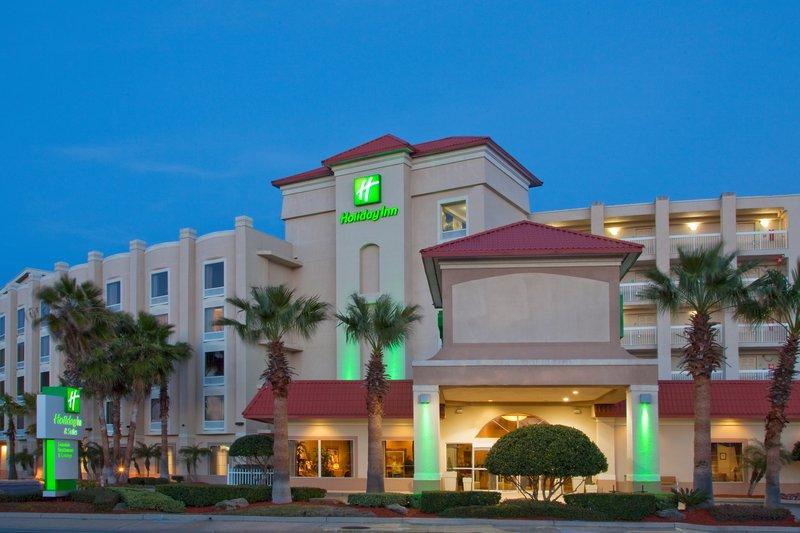 Holiday Inn Daytona Beach On The Ocean-Front Hotel Exterior during night Atlantic Ave view<br/>Image from Leonardo