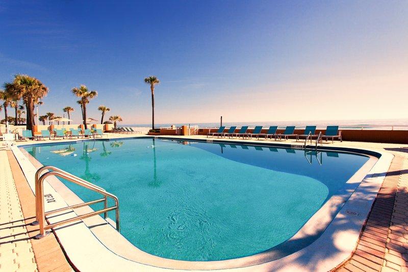 Holiday Inn Daytona Beach On The Ocean-Swimming Pool Leading to the Beach<br/>Image from Leonardo