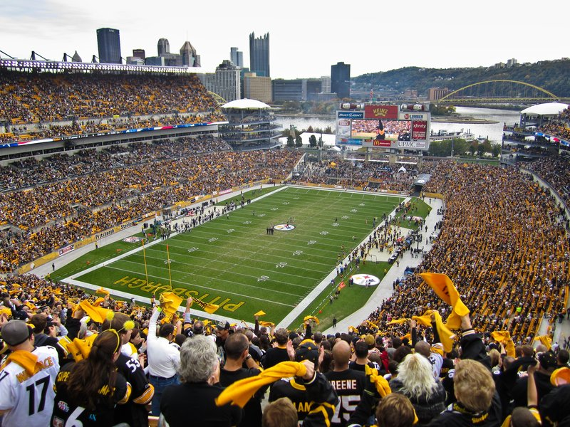 Candlewood Suites Pittsburgh-Airport-12 miles away - Heinz Field, home of the Steelers<br/>Image from Leonardo