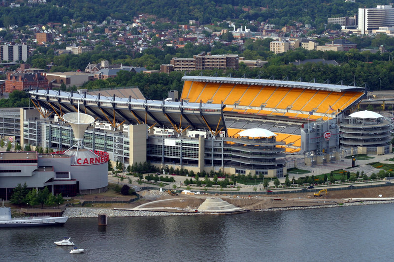 Candlewood Suites Pittsburgh-Airport-Home of the Pittsburgh Steelers.  3 Rivers View.  Heinz Field.<br/>Image from Leonardo