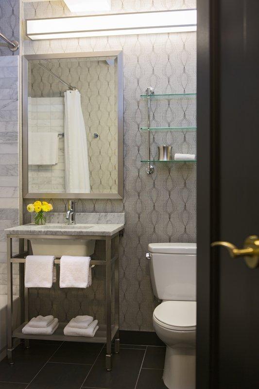 Hotel Allegro; A Kimpton Hotel - Guest Bathroom <br/>Image from Leonardo