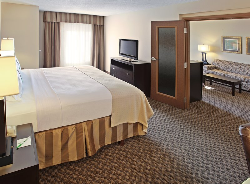 Holiday Inn Little Rock - Airport - Conf Ctr-This suite has a french door into the living room.<br/>Image from Leonardo