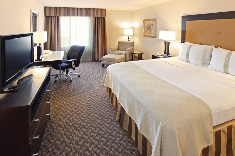 Holiday Inn Little Rock - Airport - Conf Ctr-King Bed Guest Room with work desk and more.<br/>Image from Leonardo