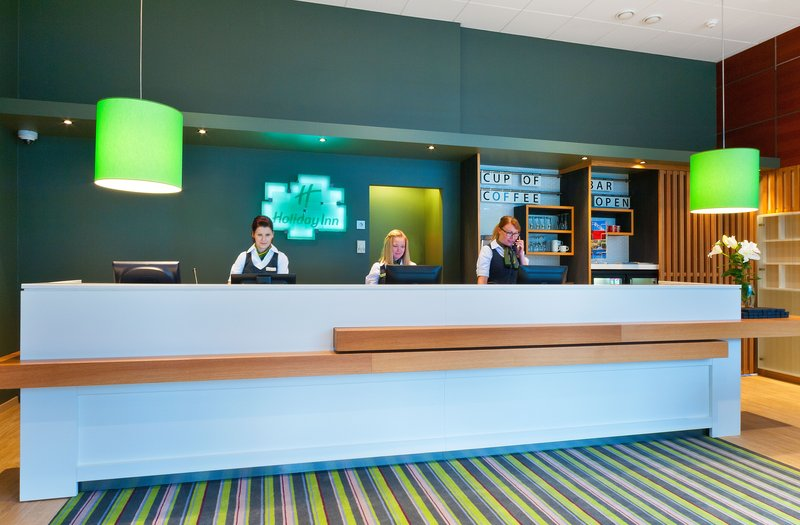 Holiday Inn Tampere - Central Station-Reception<br/>Image from Leonardo