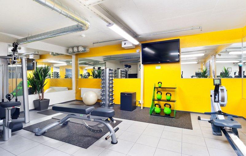 Holiday Inn Tampere - Central Station-Gym<br/>Image from Leonardo