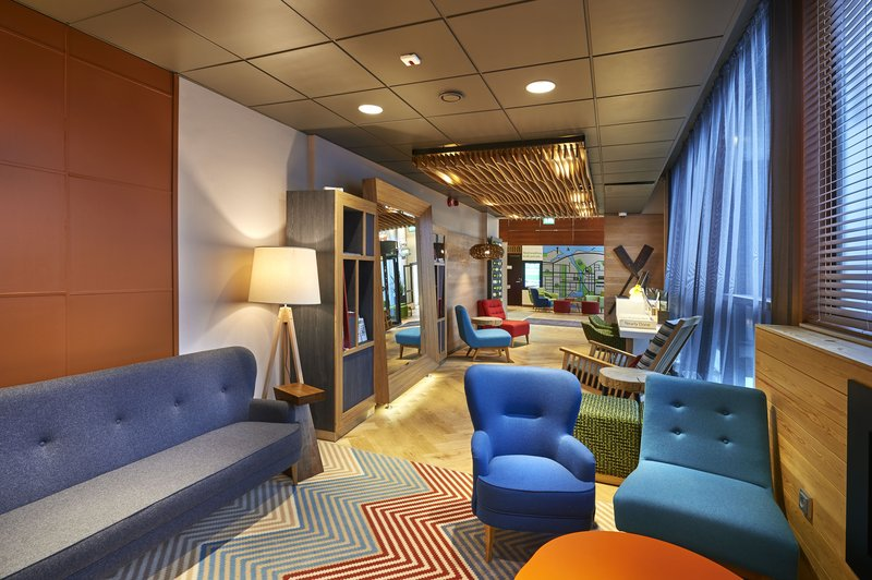 Holiday Inn Tampere - Central Station-Hotel lobby continues with Open Lobby style Gallery<br/>Image from Leonardo