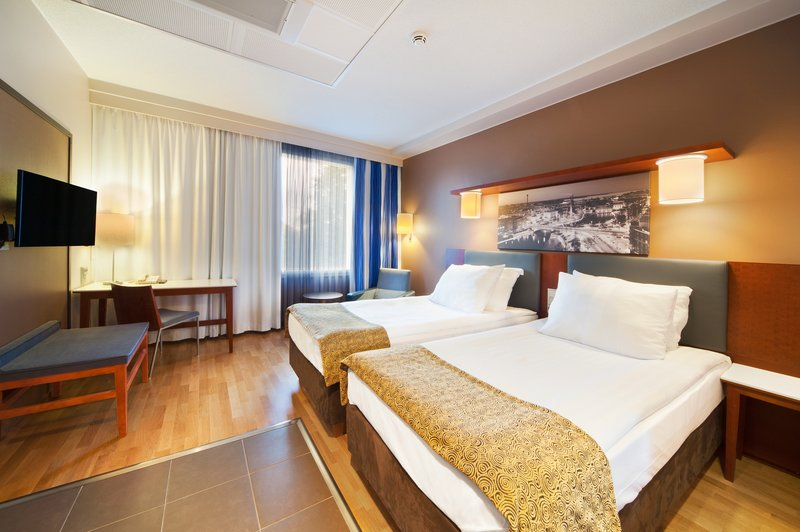 Holiday Inn Tampere - Central Station-Comfortable Standard Twin bed room comes with complimentry Wi-Fi<br/>Image from Leonardo