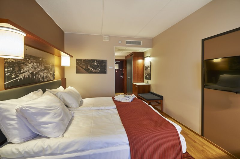 Holiday Inn Tampere - Central Station-Executive rooms are located on the top floor of the hotel<br/>Image from Leonardo