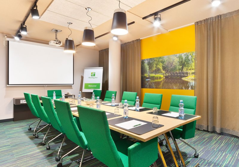 Holiday Inn Tampere - Central Station-Get your group together at our boardroom for up to ten people.<br/>Image from Leonardo
