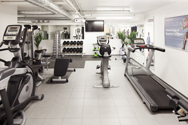 Holiday Inn Tampere - Central Station-Hotel's guests can exercise in the Mini Gym free of charge<br/>Image from Leonardo