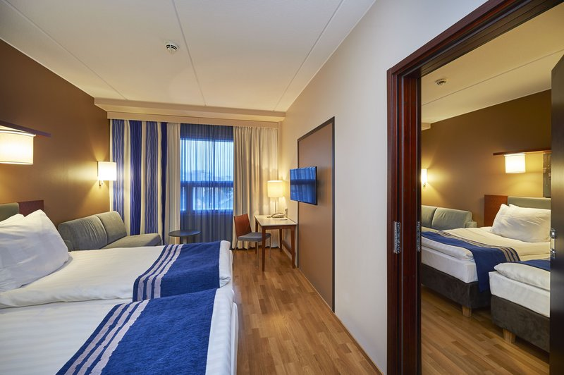 Holiday Inn Tampere - Central Station-Some Standard rooms can be connected together<br/>Image from Leonardo