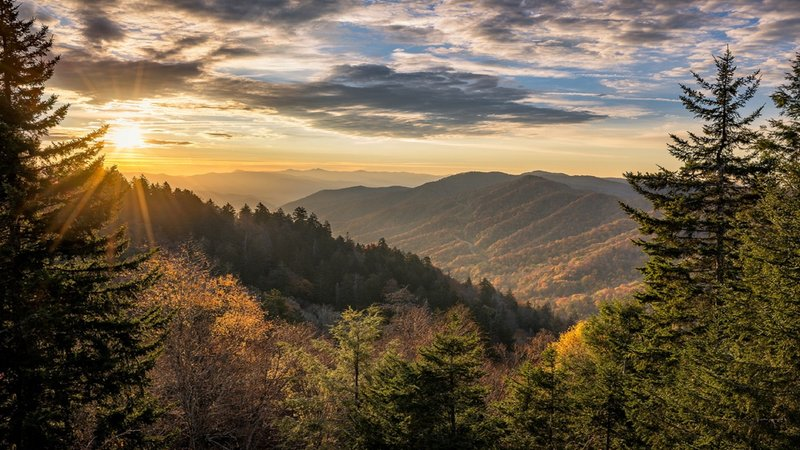 Candlewood Suites Knoxville-Breathtaking view of the Great Smoky Mountains!<br/>Image from Leonardo