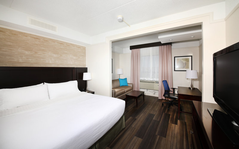 Holiday Inn Hotel & Suites Windsor (Ambassador Bridge)-King Bed Guest Room<br/>Image from Leonardo