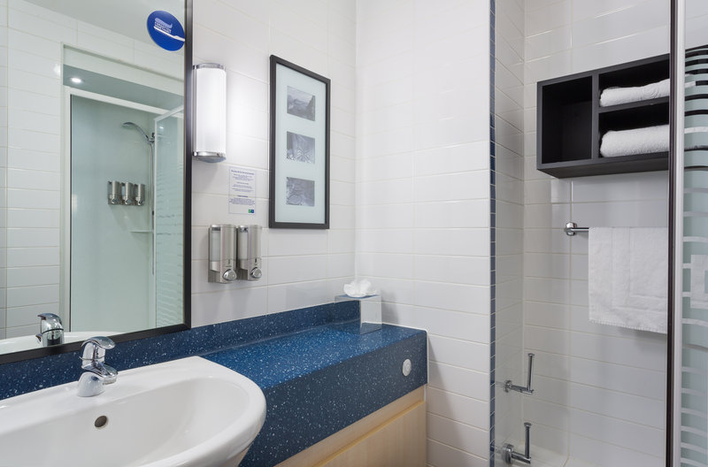 Holiday Inn Express Braintree-Guest Bathroom<br/>Image from Leonardo