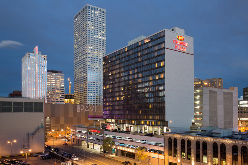 Crowne Plaza Downtown Denver-The Crowne Plaza in the heart of downtown Denver<br/>Image from Leonardo