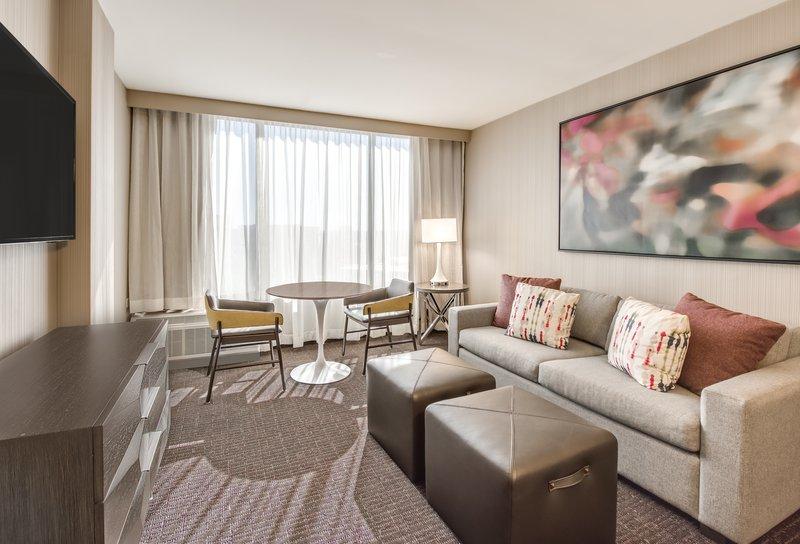 Crowne Plaza Downtown Denver-King Suite Sitting Area<br/>Image from Leonardo