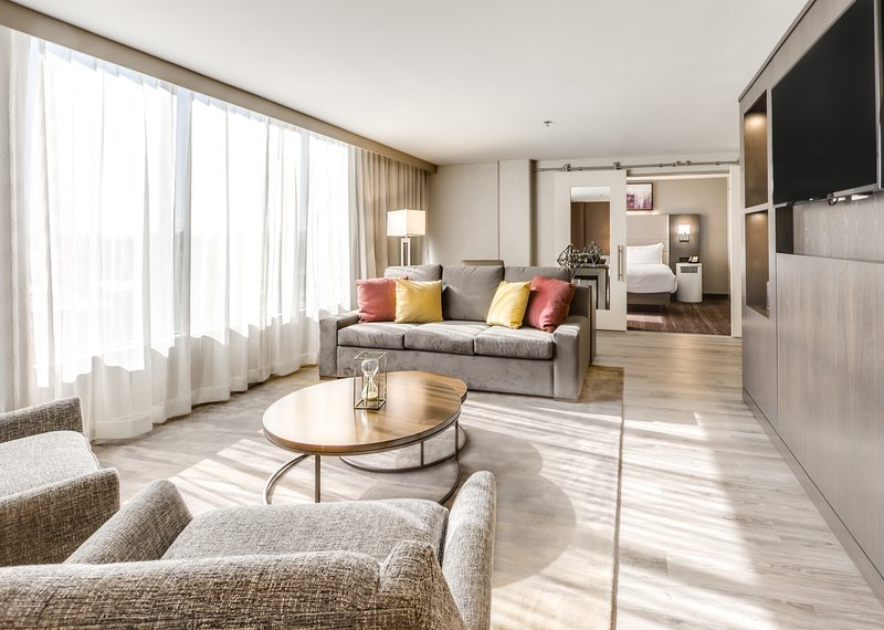 Crowne Plaza Downtown Denver-Presidential Suite Sitting Area<br/>Image from Leonardo