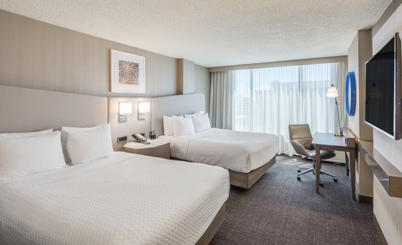 Crowne Plaza Downtown Denver-Double Queen Room with Desk<br/>Image from Leonardo