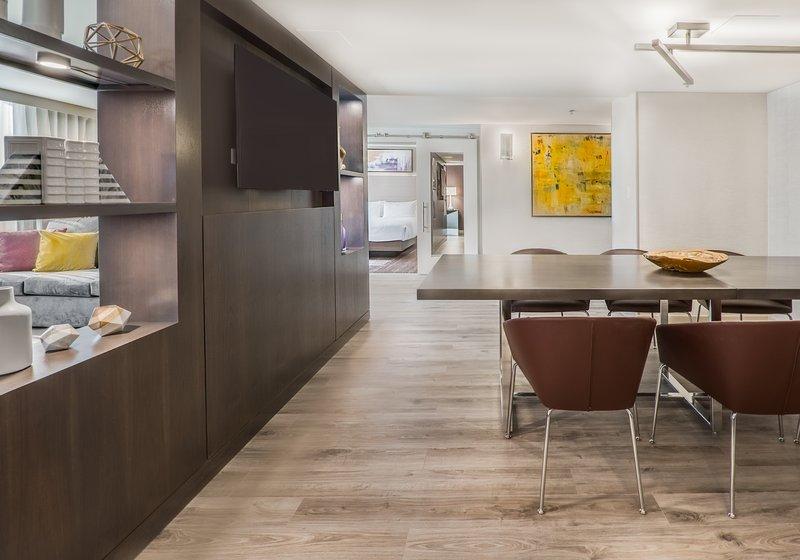 Crowne Plaza Downtown Denver-Presidential Suite Living Area<br/>Image from Leonardo