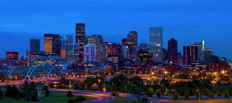 Crowne Plaza Downtown Denver-Downtown Denver Skyline<br/>Image from Leonardo