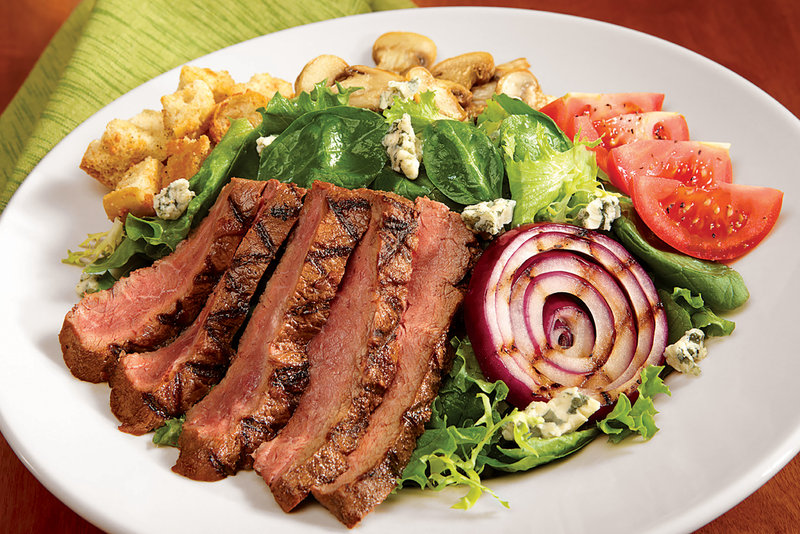 Holiday Inn Hotel & Suites Des Moines-Northwest-Chargrilled Flatiron Steak Salad, healthy and flavorful to the end<br/>Image from Leonardo