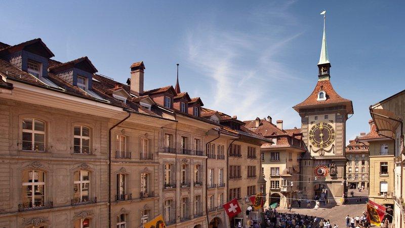 Holiday Inn Bern - Westside-City Trip UNESCO Bern - Zytglogge - Clock tower Bern Zytglogge<br/>Image from Leonardo