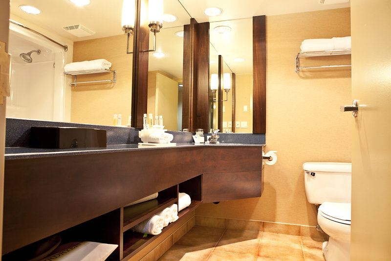 Holiday Inn Express & Suites Langley-Guest Bathroom<br/>Image from Leonardo