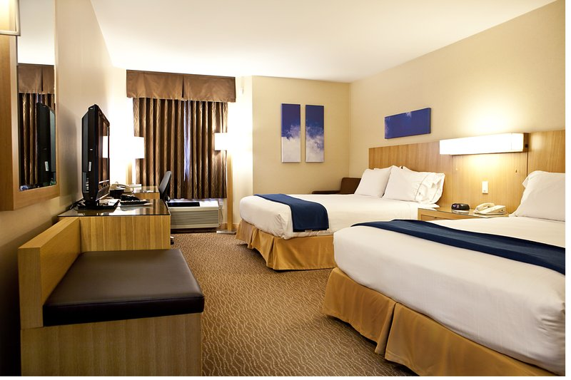 Holiday Inn Express & Suites Langley-Two Queen Bed Room Executive Floor<br/>Image from Leonardo