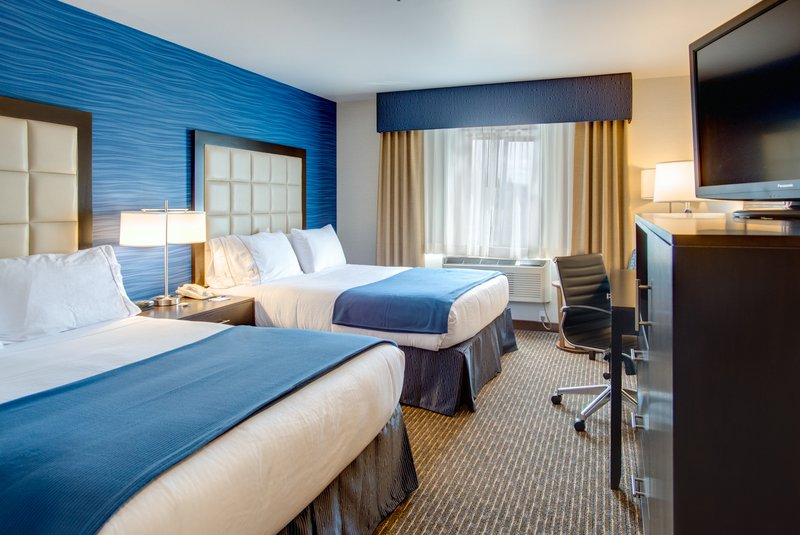 Holiday Inn Express Bellingham-Standard Guest Room Two Queen Beds<br/>Image from Leonardo