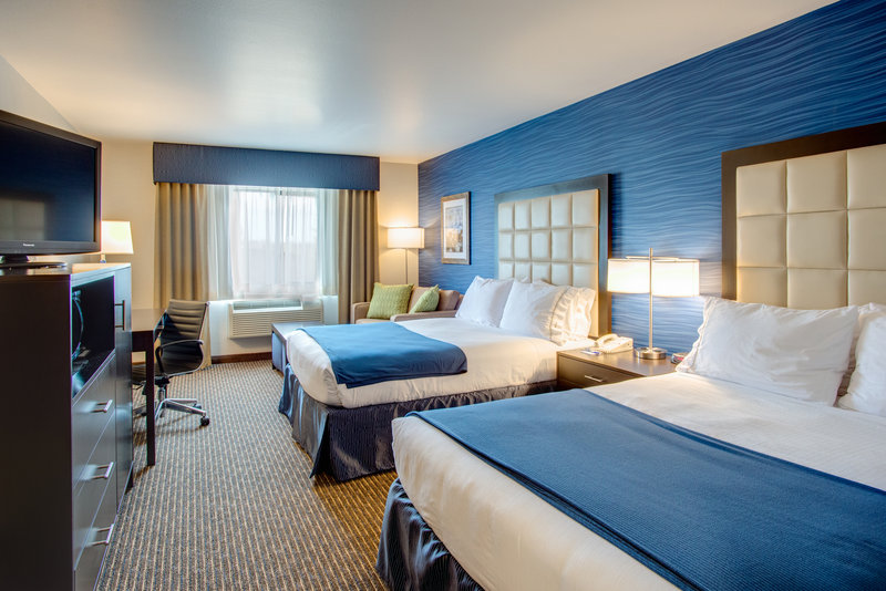 Holiday Inn Express Bellingham-Deluxe Two Queen Bed Room<br/>Image from Leonardo