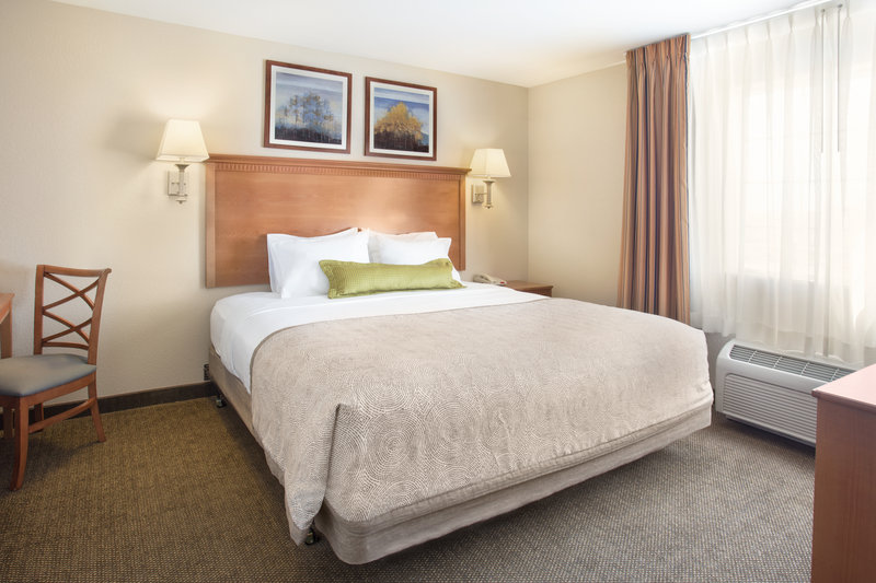 Candlewood Suites Yuma-One Bedroom Suite Bedroom<br/>Image from Leonardo