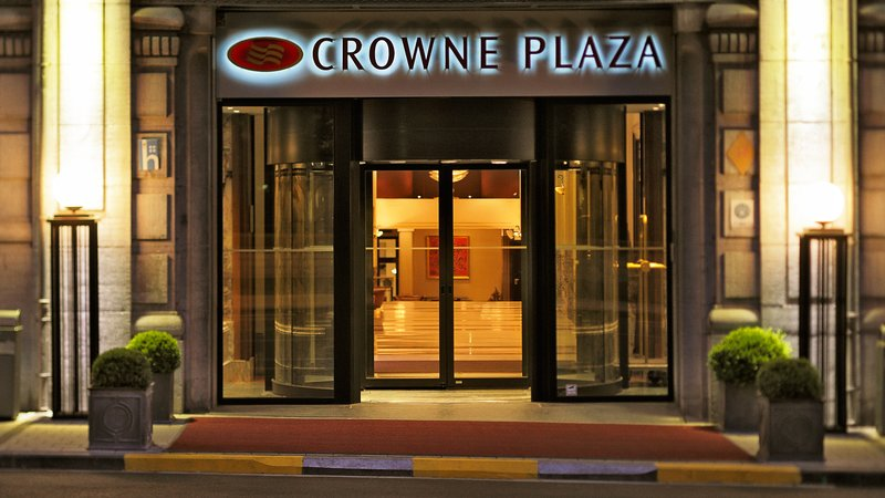 Crowne Plaza Brussels - Le Palace-Main entrance of Crowne Plaza Brussels Le Palace<br/>Image from Leonardo