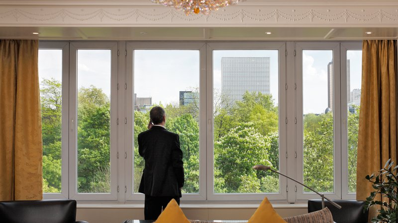 Crowne Plaza Brussels - Le Palace-View from Hotel<br/>Image from Leonardo