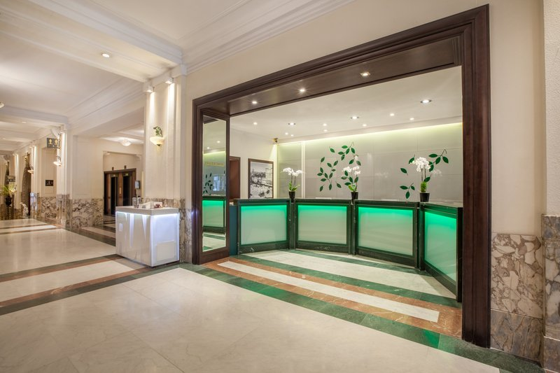 Crowne Plaza Brussels - Le Palace-Front Desk<br/>Image from Leonardo