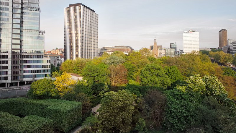 Crowne Plaza Brussels - Le Palace-View on the Botanical Garden<br/>Image from Leonardo