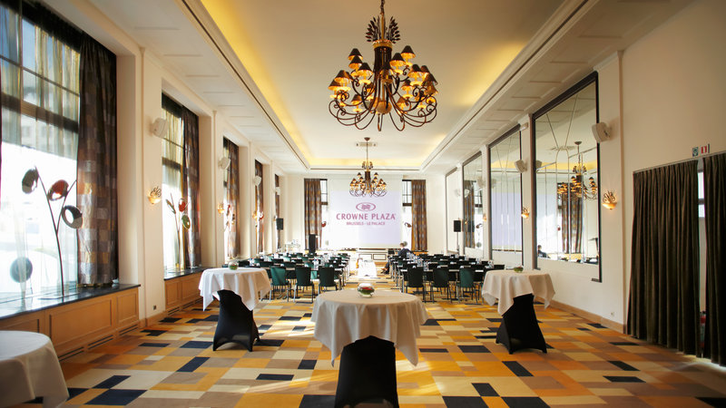 Crowne Plaza Brussels - Le Palace-Klimt Room - Classroom style (max. 174 people)<br/>Image from Leonardo