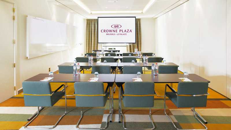 Crowne Plaza Brussels - Le Palace-Creativity - Classroom style (max. 30 people)<br/>Image from Leonardo