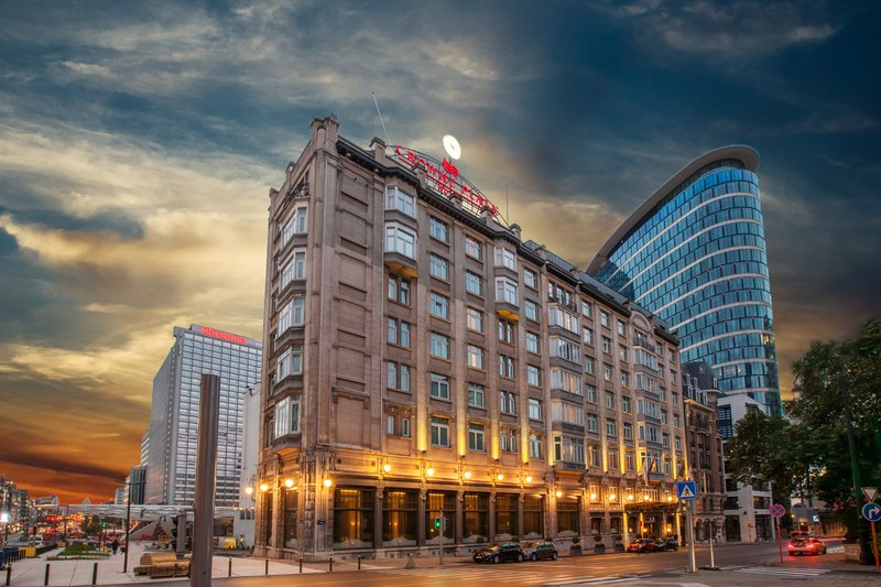 Crowne Plaza Brussels - Le Palace-Hotel Exterior<br/>Image from Leonardo