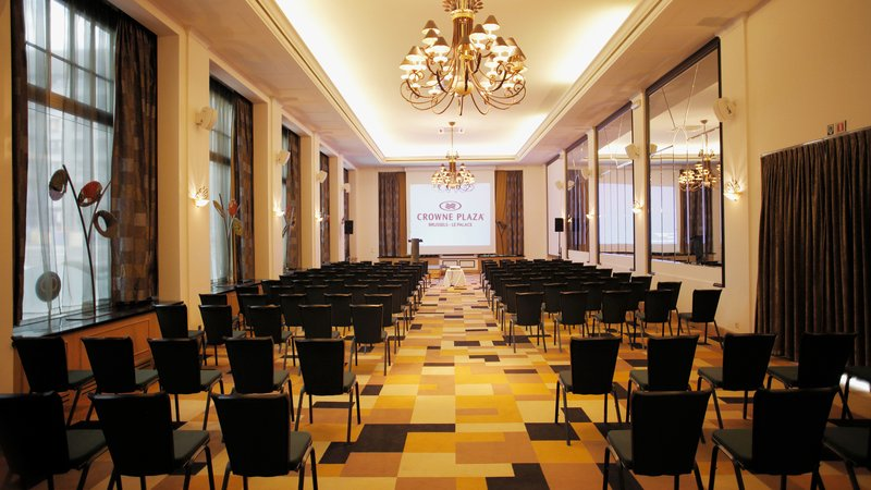 Crowne Plaza Brussels - Le Palace-Klimt - Theatre style (max. 210 people)<br/>Image from Leonardo