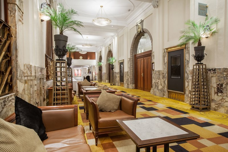 Crowne Plaza Brussels - Le Palace-Hotel lobby<br/>Image from Leonardo
