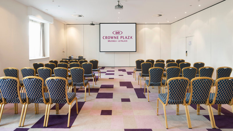 Crowne Plaza Brussels - Le Palace-Clarity - Theatre style (max. 104 people)<br/>Image from Leonardo